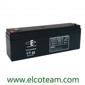 Batteria ermetica al piombo 12V 2,2Ah EnergyTeam