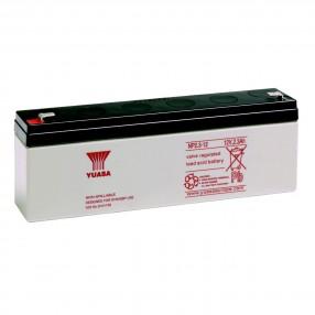 YUASA NP2.3-12 Batteria ermetica al piombo 12V 2,3Ah