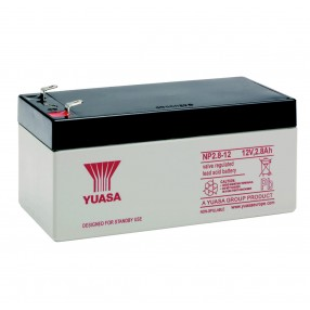 YUASA NP2.8-12 Batteria ermetica al piombo 12V 2,8Ah