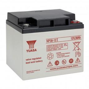 YUASA NP38-12I Batteria ermetica al piombo 12V 38Ah