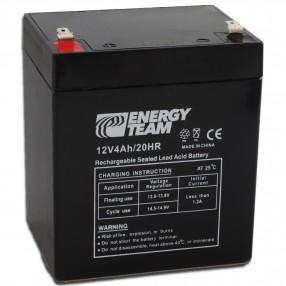 Batteria ermetica al piombo 12V 4Ah EnergyTeam