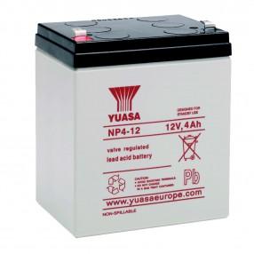 YUASA NP4-12 Batteria ermetica al piombo 12V 4Ah