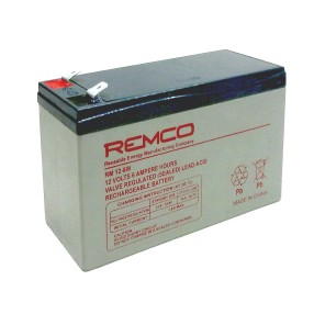 Remco RM12‐6W Batteria ermetica al piombo 12V 6Ah slim