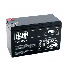 Fiamm FG20721 Batteria ricaricabile al piombo 12V 7,2Ah