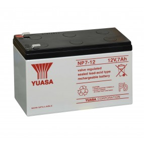 YUASA NP7-12 Batteria ermetica al piombo 12V 7Ah