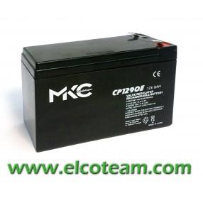 Batteria ermetica al piombo 12V 9Ah Mkc