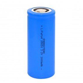 Batteria Ricaricabile 26650 LiFePO4 3,2V 3000mAh