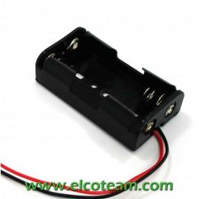 Portabatteria per 2 stilo AA BH321-1A