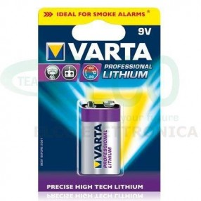 Pila VARTA PROFESSIONAL LITHIUM 9V
