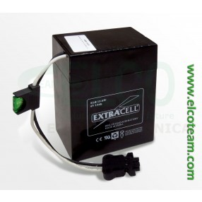 Batteria ermetica al piombo 6V 13Ah Extracell