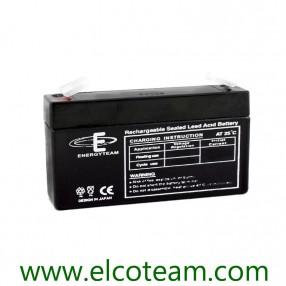 Batteria ermetica al piombo 6V 1,3Ah EnergyTeam