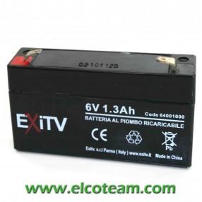 Batteria EXITV 6V 1,3Ah