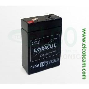Batteria ermetica al piombo 6V 3,2Ah