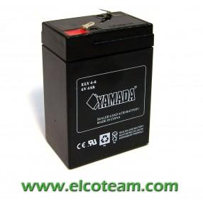 Batteria Ermetica al piombo 6V 4 Ah
