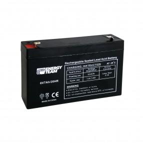 Batteria Ermetica al piombo 6V 7Ah EnergyTeam