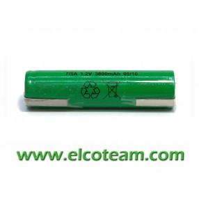 Batteria 7/5 AF 3.8Ah Ni-Mh lamella a saldare