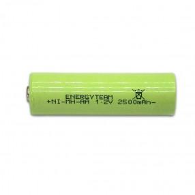 Batteria stilo AA 2500 mAh Ni-Mh bottone EnergyTeam