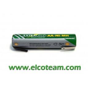 Batteria mini stilo AAA 700 MAh Ni-Mh lamelle