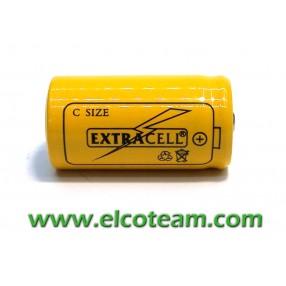 Batteria mezza torcia C 2.5 Ah Ni-Mh bottone