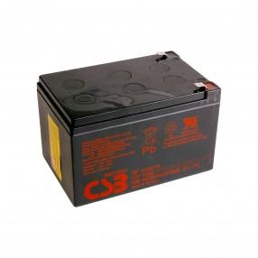CSB GP12120 Batteria ermetica al piombo 12V 12Ah faston 6,3 mm