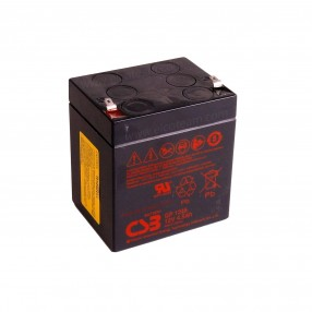 CSB GP1245 Batteria ermetica al piombo 12V 4,5Ah faston 4,8mm