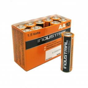 Duracell Industrial batteria stilo AA confezione 10 pezzi
