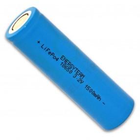 Batteria Ricaricabile 18650 LiFePO4 3,2V 1500mAh