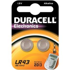 Pila DURACELL LR43 - Confezione 2 pezzi