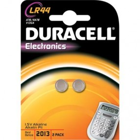 Pila DURACELL LR44 - Confezione 2 pezzi