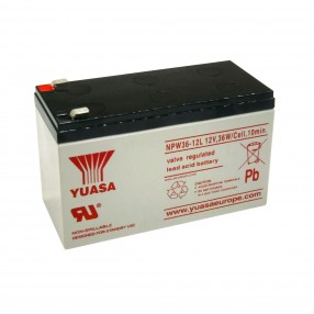 YUASA NPW36-12 Batteria ermetica al piombo 12V 7Ah