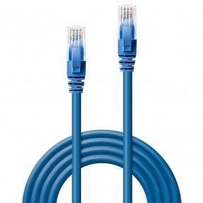 Cavo di rete Cat.6 UTP 1 metro colore Blu