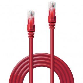 Cavo di rete Cat.6 UTP 2 metri colore Rosso
