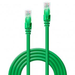 Cavo di rete Cat.6 UTP 2 metri colore Verde