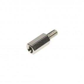Distanziatore Esagonale Metallico M3 Filettato Maschio-Femmina H=10 mm