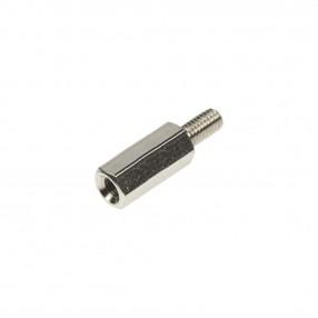 Distanziatore Esagonale Metallico M3 Filettato Maschio-Femmina H=12 mm