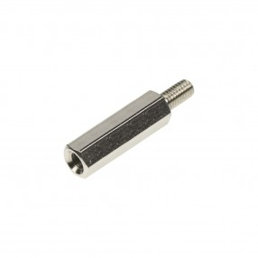Distanziatore Esagonale Metallico M3 Filettato Maschio-Femmina H=20 mm