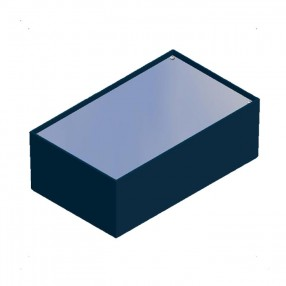 Teko P/4.10 contenitore per elettronica con pannello in alluminio