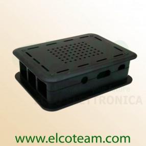 TEK-BERRY+ Case per Raspberry Pi model B+ colore nero