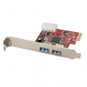 Lindy 51118 Scheda PCI Express con 2 Porte USB 3.0