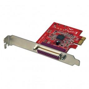 Lindy 51185 Scheda PCI Express 1 Porta Parallela IEEE1284