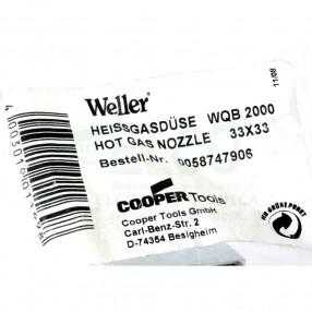 Weller 0058747906 Ugello per Aria Calda 33x33 per Unità WQB