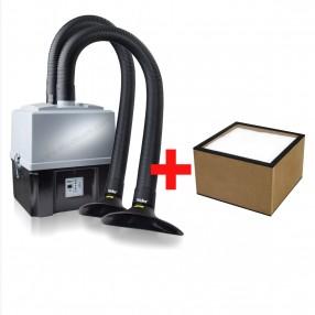 Promo WellerFT Zero Smog TL Kit 2 per due postazioni + set filtri di ricambio