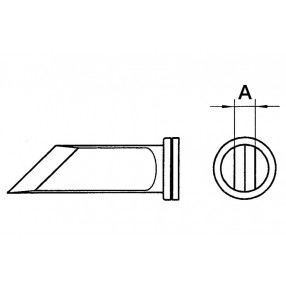 LTKN Punta Weller a lama per Stili 80W