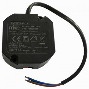 MKC-1213 Alimentatore Switching Compatto 12V 1,3A IP67 - 491929227