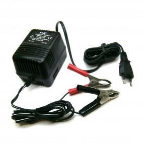 Caricabatterie per batterie al piombo 2V, 6V, 12V 600mA MKC