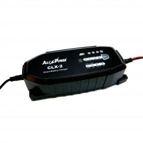 Alcapower CLX-2 Caricabatterie automatico per batterie 12V-24V al piombo e litio LiFePO4 da 18Ah a 240Ah