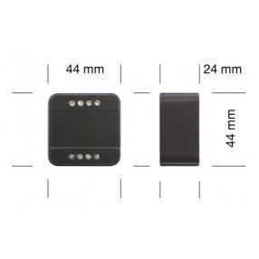 DLC1248-1CV Dimmer per LED con comando a Pulsante - Dimensioni