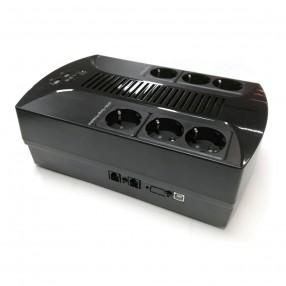 Gruppo di Continuità Line Interactive step-wave 850VA Multipresa EA 285 Plus