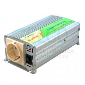 Alca Power AP12-300GP Inverter Soft Start 300 Watt 12VDC - 230VAC - Vista Frontale