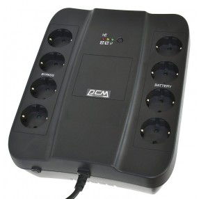 UPS Powercom Spider 650 Gruppo di Continuità Multipresa